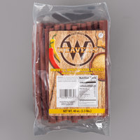 Weaver's 2.5 lb. Sweet and Spicy Snack Sticks - 2/Case