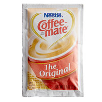 Nestle Coffee-Mate 3 Gram Original Powdered Creamer Packet   - 1000/Case
