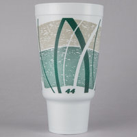 Dart 44AJ32E 44 oz. Impulse Customizable Foam Travel Cup   - 300/Case