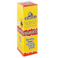 Weaver's 32-Pack 1 oz. Smokey Tom Turkey Snack Sticks - 6/Case