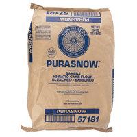 General Mills Purasnow 50 lb. Bleached / Enriched Cake Flour