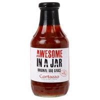 Cortazzo 19 oz. Awesome In a Jar Original BBQ Sauce - 12/Case