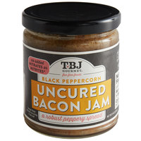 TBJ Gourmet 9 oz. Black Peppercorn Uncured Bacon Jam - 6/Case