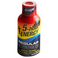 5-Hour Energy Extra Strength 1.93 oz. Grape Energy Drink 12-Pack - 4/Case