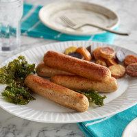 Kunzler 5 lb. Fully Cooked Pork Sausage - 2/Case