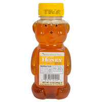 Natural American 12 oz. Honey Bears - 12/Case