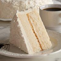 Pellman 9 inch White Coconut Cake - 4/Case
