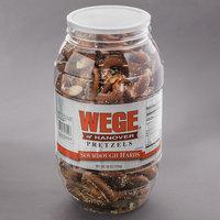 Wege of Hanover 28 oz. Sourdough Hard Pretzel Barrel - 6/Case