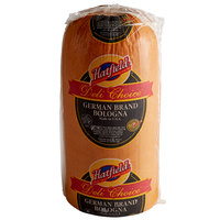Hatfield Deli Choice 10 lb. German Brand Bologna - 2/Case