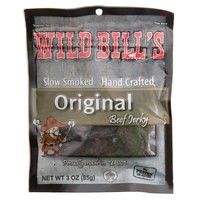 Wild Bill's 3.25 oz. Hickory Smoked Tender Tips Beef Jerky