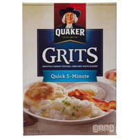 Quaker 2.5 lb. Quick 5 Minute Grits   - 12/Case