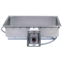 APW Wyott TM-43 UL 4/3 Size Uninsulated One Pan Drop In Hot Food Well with UL Electrical Kit -208V