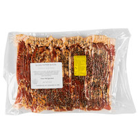 Kunzler 5 lb. Pack Sliced Black Pepper Bacon - 2/Case