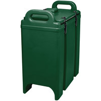 Cambro 350LCD519 Camtainer 3.375 Gallon Green Insulated Soup Carrier