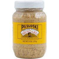 Pilsudski 9 oz. Polish Style Horseradish Mustard - 12/Case