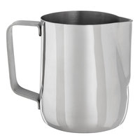 Choice 20 oz. Polished Stainless Steel Frothing Pitcher