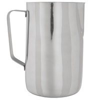 Choice 66 oz. Polished Stainless Steel Frothing Pitcher