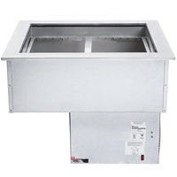 APW Wyott CW-2 Two Pan Drop In Refrigerated Cold Food Well - 230V