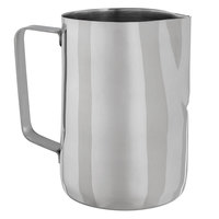 Choice 33 oz. Polished Stainless Steel Frothing Pitcher