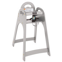 Koala Kare KB105-01 Gray Assembled Designer High Chair