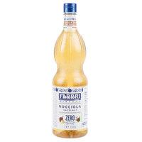Fabbri 1 Liter Sugar-Free Hazelnut Mixybar Syrup