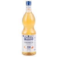 Fabbri 1 Liter Sugar-Free Caramel Mixybar Syrup