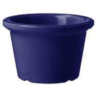 GET S-610-CB 1.5 oz. Cobalt Blue Smooth Melamine Ramekin - 72/Case