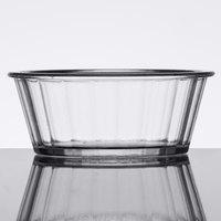 GET ER-020-CL 2 oz. Clear Fluted SAN Plastic Ramekin   - 48/Case