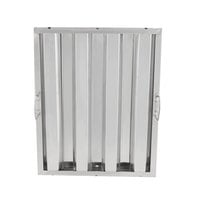 Regency 20 inch x 16 inch x 2 inch Stainless Steel Hood Filter