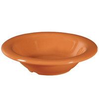 GET B-86-PK Pumpkin Diamond Harvest 8 oz. Bowl - 48/Case