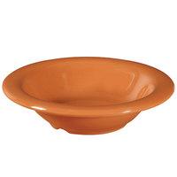 GET B-86-PK Diamond Harvest 8 oz. Pumpkin Melamine Bowl - 48/Case