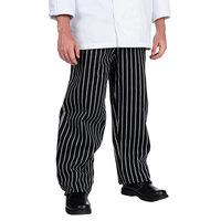 Chef Revival Unisex Pinstripe EZ Fit Chef Pants - Extra Large