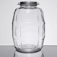 Anchor Hocking 85679AHG17 2.5 Gallon Barrel Jar with Brushed Aluminum Lid