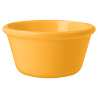 GET RM-388-TY 3 oz. Tropical Yellow Smooth Melamine Ramekin - 48/Case