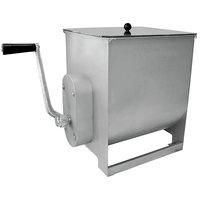 44 lb. Manual Meat Mixer with 7 Gallon Tank