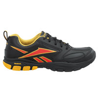 Reebok SRB131 Senexis MaxTrax Women's Black / Yellow Soft Toe Non-Slip Athletic Shoe