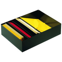 MMF Industries 2712SBK Black 5 Compartment Stationery Holder for Desk Drawers
