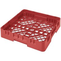 Cambro BR258163 Red Camrack Customizable Full Size Open Base Rack