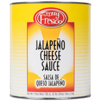 Advanced Food Products A5MUY1-EY #10 Can Jalapeno Nacho Cheese Sauce - 6/Case