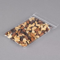Plastic Food Bag 5 inch x 7 inch Seal Top with Hang Hole - 1000/Box