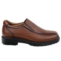 SR Max SRM3090 Brooklyn Men's Brown Soft Toe Non-Slip Dress Shoe