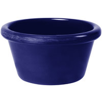 GET S-620-CB 2 oz. Cobalt Blue Smooth Melamine Ramekin - 48/Case