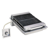 Wells B-446 20 inch Built-In Electric Charbroiler with One Control Knob - 208V, 5400W