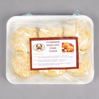 Linton's Seafood 5 oz. Maryland Crab Cakes - 6/Case