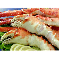 Linton's Seafood 5 lb. Frozen Alaskan King Crab Claws