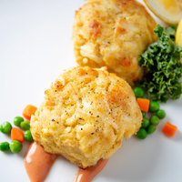 Linton's Seafood 5 oz. Maryland Crab Cakes - 12/Case