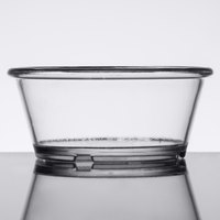 GET ER-040-CL 4 oz. Clear Smooth SAN Plastic Ramekin   - 48/Case
