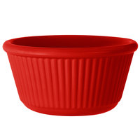 GET RM-401-R 4 oz. Red Fluted Melamine Ramekin - 48/Case