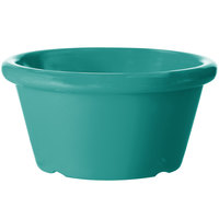 GET S-660-TE 6 oz. Teal Smooth Melamine Ramekin - 48/Case