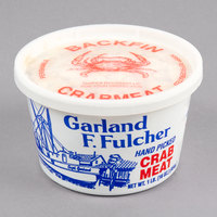 Linton's Seafood 1 lb. Backfin Lump Maryland Blue Crab Meat